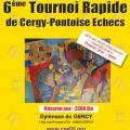 6e Tournoi Rapide de Cergy-Pontoise (-2300)