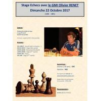 Stage avec le GMI Olivier RENET - Dimanche 22 octobre (10h-18h)