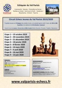 Circuit Jeunes du Val Parisis 2019/2020