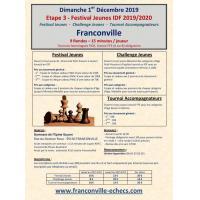 3e Etape Festival Jeunes IDF 2019/2020 - Franconville - 01/12/2019