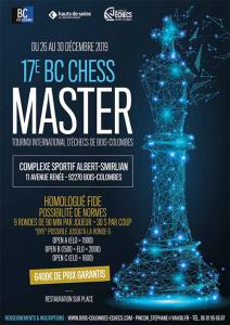 17e Bois Colombes Chess Master