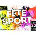 Fête du Sport à Franconville - Samedi 22/09 de 14h à 17h