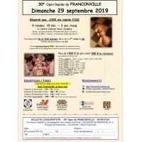 30e Open de Franconville Homologué Rapide FIDE/FFE (-2350 elo)