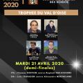 Suivez les demi-finales du trophée du Val d'Oise