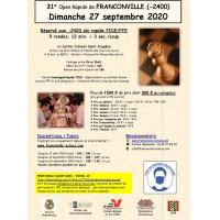 31e Open de Franconville Homologué Rapide FIDE/FFE (-2400 elo)