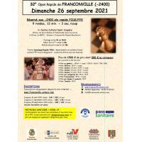 32e Open de Franconville Homologué Rapide FIDE/FFE (-2400 elo)