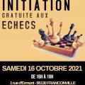 Initiation Adultes aux échecs - Samedi 16 octobre 2021